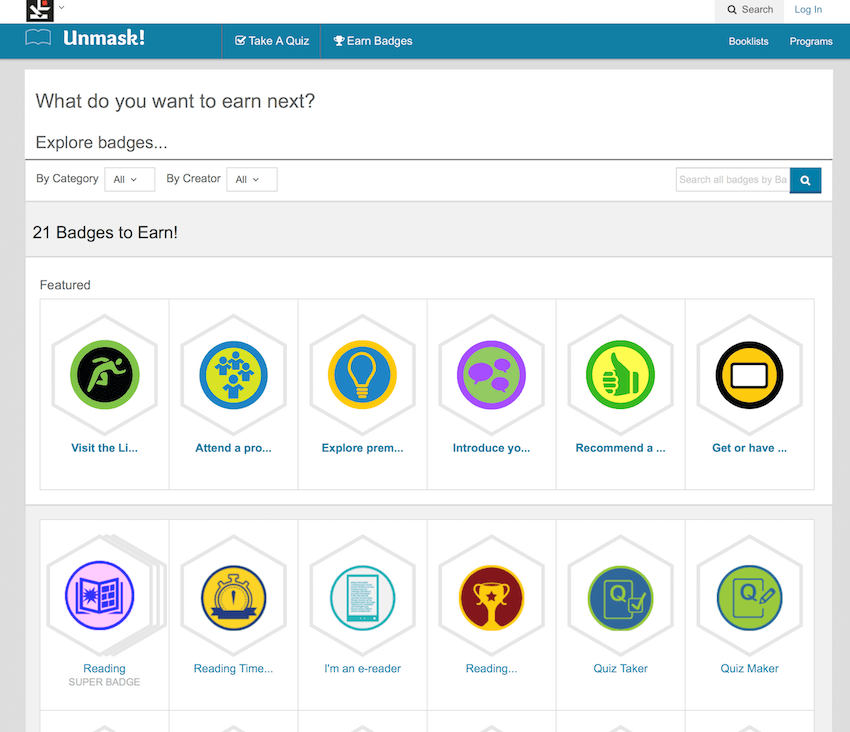 Open Badges implementation